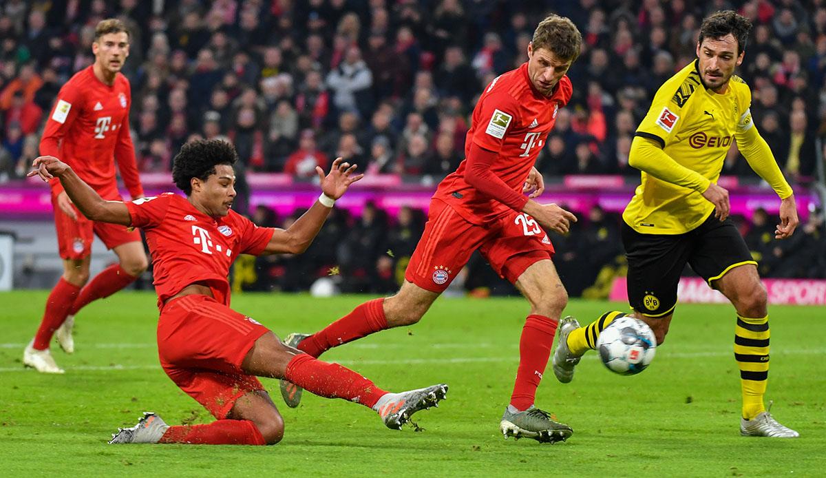 BVB gegen FC Bayern München im Livestream sehen: So geht's