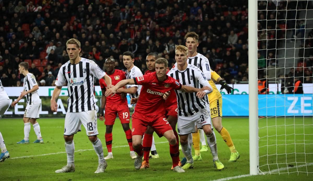 Bundesliga: SC Freiburg - Bayer Leverkusen heute live im Liveticker