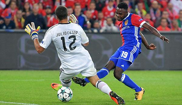 Oberlin trifft doppelt bei Basel-Schützenfest über Benfica