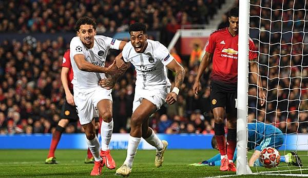 PSG Gegen Manchester United Champions League Heute Live