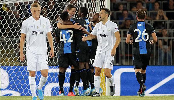 LASK verliert gegen FC Brügge in der Champions League-Qualifikation mit 0:1