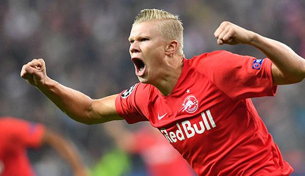 Winter-Transfer von Stürmer Erling Haaland für Red Bull Salzburg kein Thema
