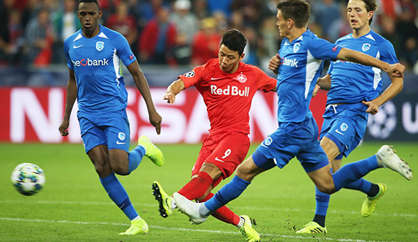HIGHLIGHTS: Red Bull Salzburg - KRC Genk: Champions League im Video