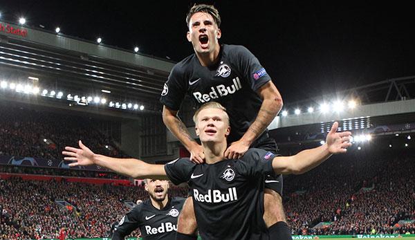 Red Bull Salzburg SSC Neapel Champions League Heute