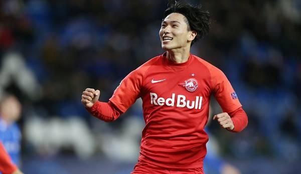 Medizintest ausständig: Takumi Minamino wechselt im Januar wohl zum FC Liverpool