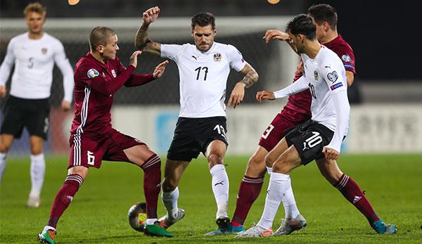 Lettland Gegen österreich