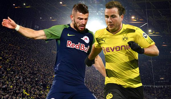 Borussia Dortmund Red Bull Salzburg Die Aufstellungen