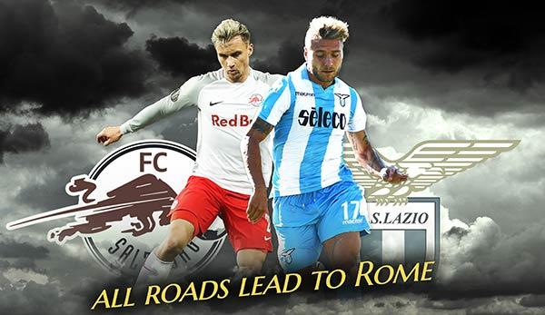 Lazio Rom Gegen Red Bull Salzburg Europa League Hinspiel Im Live