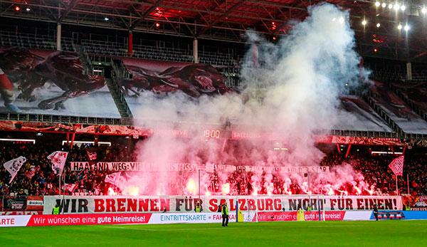 Warum die Red-Bull-Salzburg-Fans in Minute 33 gegen Eintracht Frankfurt stumm blieben