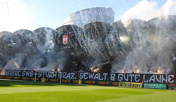 Sturm Graz Reagiert Auf Quot Gewalt Quot Spruchband Von Fan