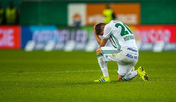 SK Rapid Wien: Schon wieder am Boden