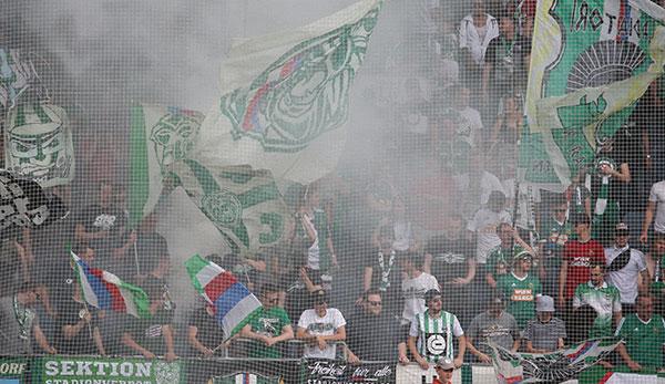 14 Prozent Minus: Starker Zuschauer-Verlust beim SK Rapid Wien
