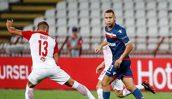 SK Rapid Wien offenbar an Veljko Simic von Roter Stern Belgrad interessiert
