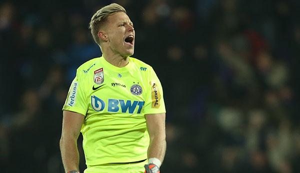 FK Austria Wien: Torhüter Patrick Pentz unterschreibt Zwei-Jahres-Vertrag
