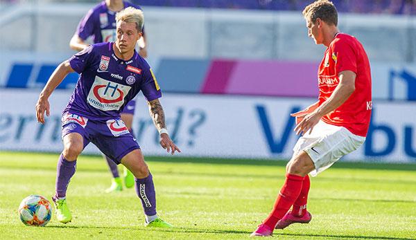 Trotz Führung: FK Austria Wien mit Punkt gegen Admira Wacker gut bedient