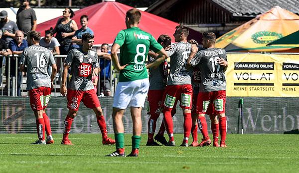 GAK schlägt Austria Lustenau - Ein Punkt fehlt auf Tabellenspitze