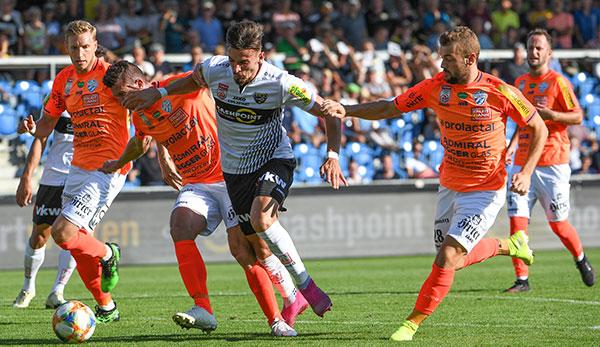 TSV Hartberg verspielt Drei-Tore-Führung gegen SCR Altach