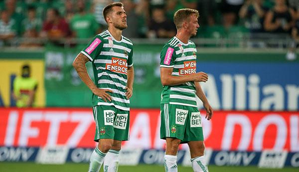 """Thorsten Schick vom SK Rapid Wien: """"Jeder muss Manns genug sein"""""""