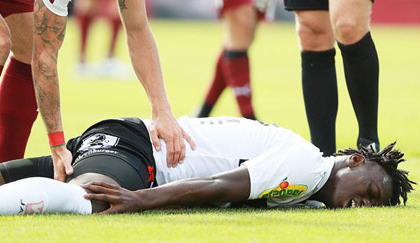 Rabenschwarzer Tag für Altach: Niederlage und Horrorverletzung gegen den SV Mattersburg