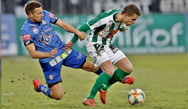 SV Mattersburg - Sturm Graz: Das Spiel heute live im TV, Livestream und Liveticker sehen