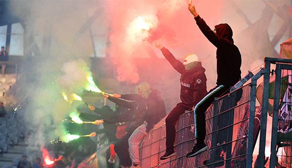 Hohe Strafe droht: SK Rapid Wien nach Fan-Eklat angezeigt