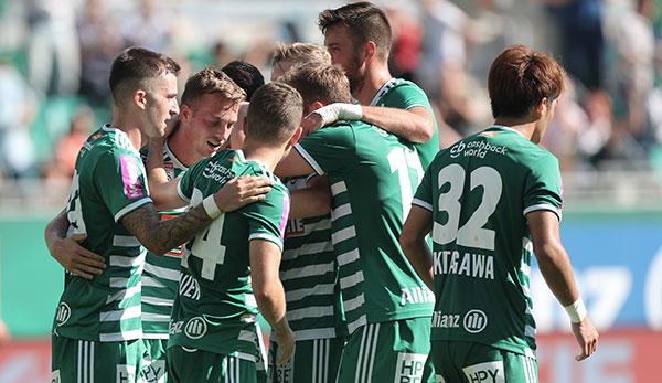 Kantersieg: SK Rapid Wien filetiert FC Admira