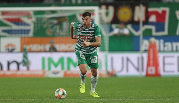 Mateo Barac von Rapid Wien: Bislang hab ich den Trainer nicht so gut verstanden
