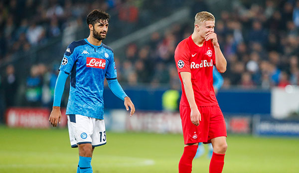 Ssc Napoli Is Angry About Rumors Surrounding Red Bull Salzburg S Erling Haaland