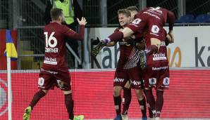 SCR Altach does not give SKN St. Pölten a chance   - Transgaming 1