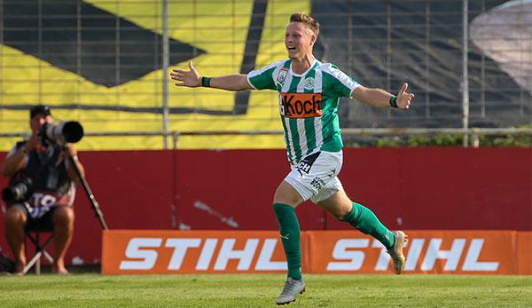 SV Mattersburgs Fabian Miesenböck nach Not-OP wohlauf