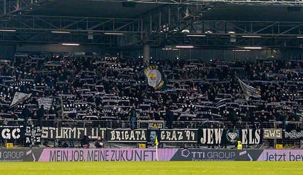SK Sturm Graz: Tickets für Match gegen FCK Corona