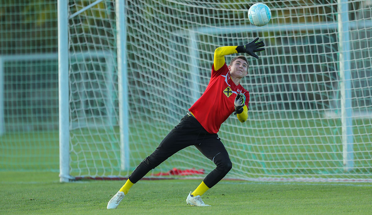 LASK verpflichtet Talent Nikolas Polster von SK Rapid Wien