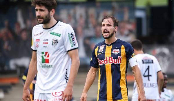 Salzburg gegen WAC.
