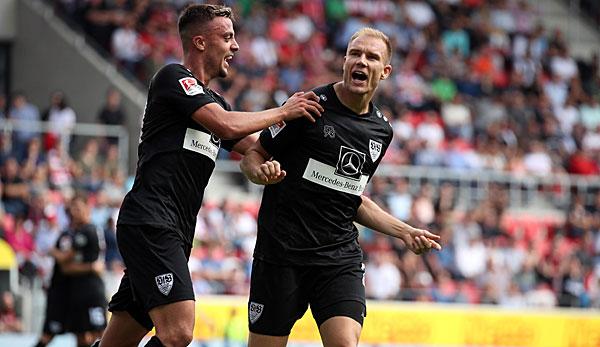 2. Liga: VfB Stuttgart nach wildem Kick Spitzenreiter - Hannover 96 in der Krise