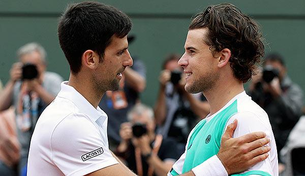 Novak Djokovic: Dominic Thiem kann der Leader dieses Sports sein