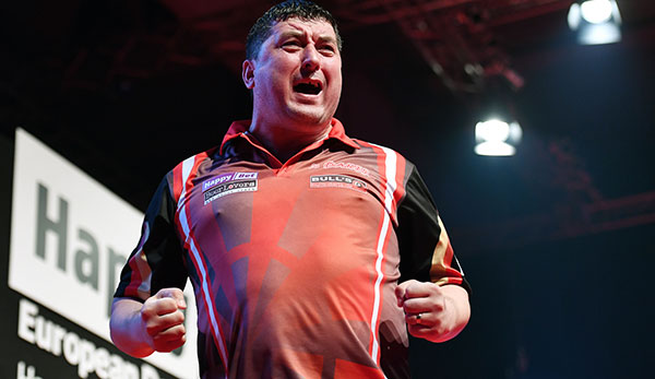 Darts-Star Mensur Suljovic