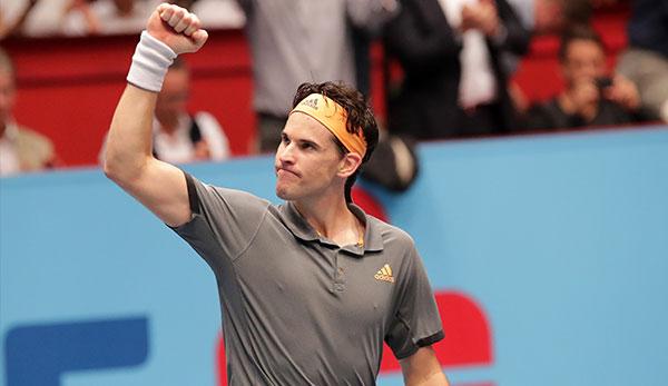 Erste Bank Open: Dominic Thiem feiert Auftaktsieg gegen Jo-Wilfried Tsong
