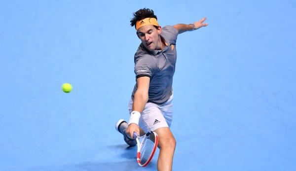 ATP Finals 2019: Wann spielt Dominic Thiem heute gegen Novak Djokovic?