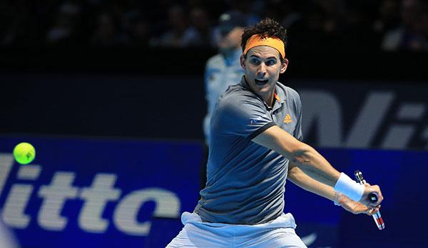 Dominic Thiem - Novak Djokovic gratis im Livestream: ATP Finals im Free-TV sehen