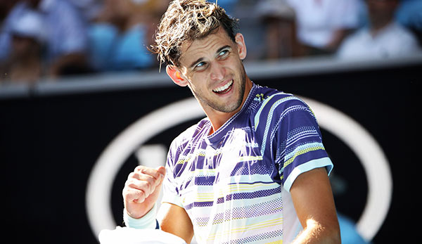 Dominic Thiem in Australien.