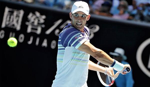 Dominic Thiem bei den Australian Open 2020.