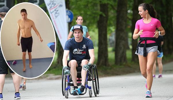 ÖSV: Ex-Skispringer Lukas Müller macht erste Schritte ohne Hilfsmittel