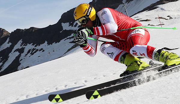 Ski Alpin: Max Franz nach Fersenbeinbruch wieder im Training