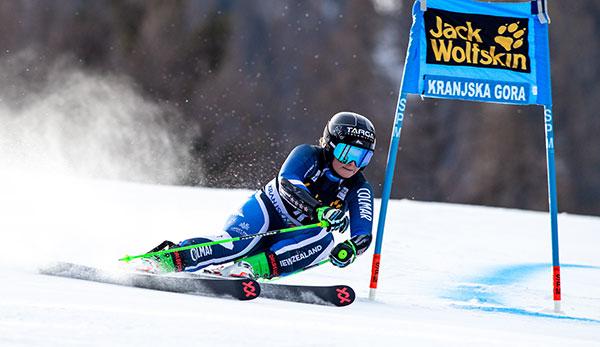 Riesenslalom in Kranjska Gora: Alice Robinson holt zweiten Weltcupsieg