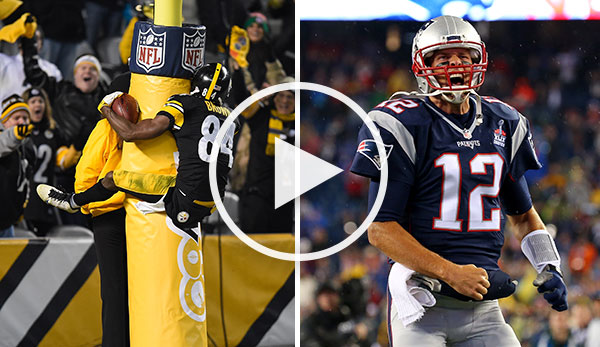 Nfl Im Livestream Pittsburgh Steelers New England Patriots Heute