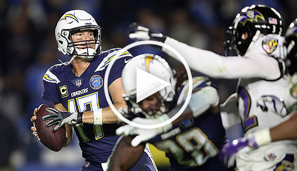 Heute im LIVESTREAM: Baltimore Ravens vs. Los Angeles Chargers