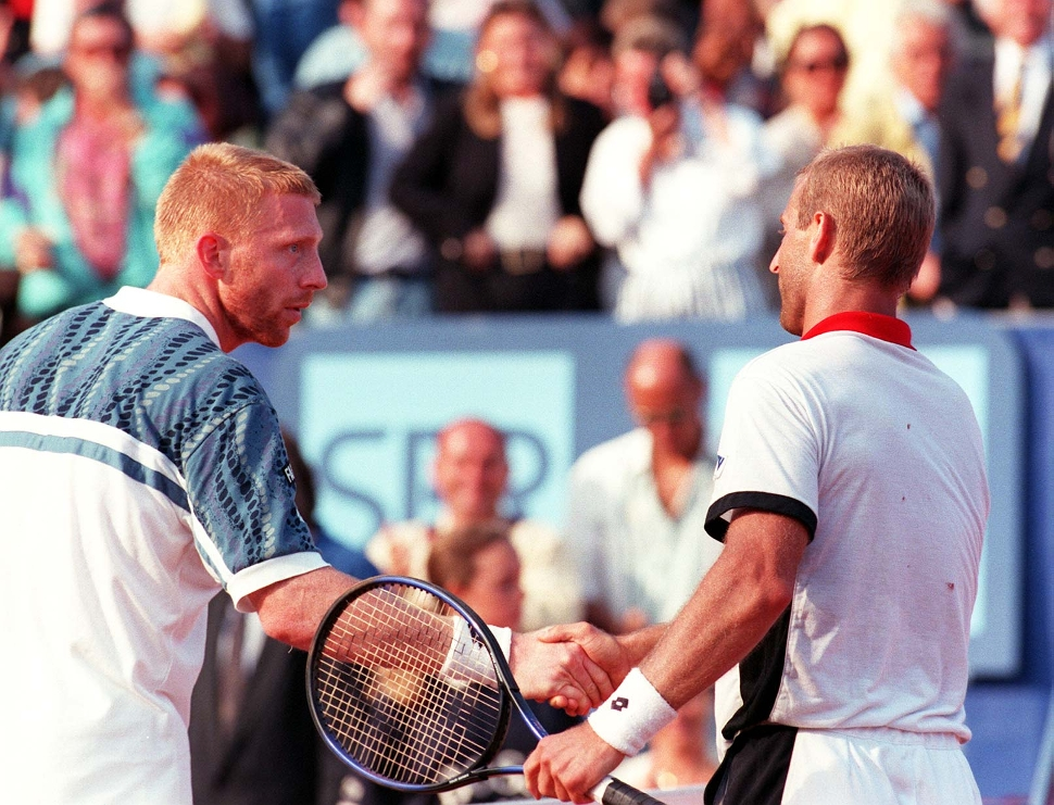 Boris Becker - Thomas Muster - ATP-Tour