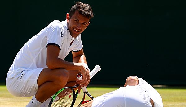 Marach gegen Trauzeugen um Wimbledon-Titel
