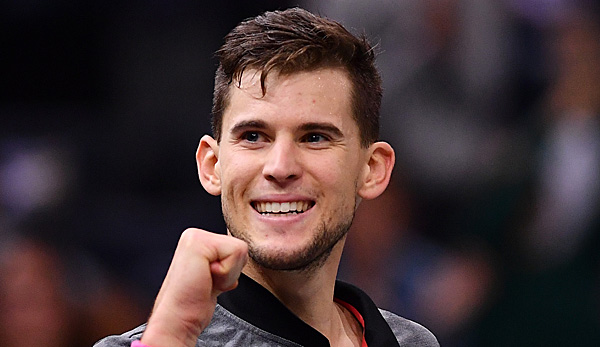 Dominic Thiem in Paris-Bercy