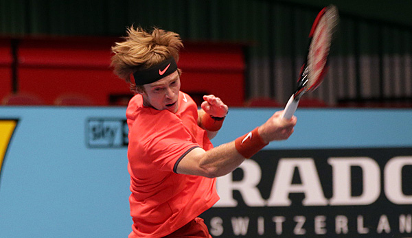 Andrey Rublev - immer volles Tempo